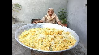 Download Aloo Dum Biryani Recipe Prepared By My Granny | Biryani Recipe | Dum Biryani | Recipe | Village Food Video