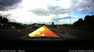 Download Bad Drivers in Sweden #120 DRL-lights fail, expensive fender bender & watertower house! Video