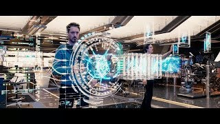 Download All tony Stark creating and Inventing gadgets Scenes | Iron Man | Storm Hack Video