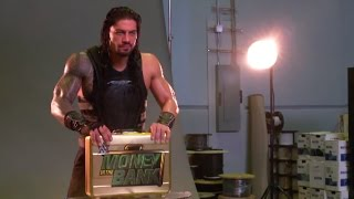 Download Go behind the scenes of Roman Reigns' WWE Money in the Bank video shoot Video