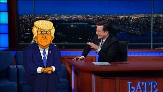 Download Cartoon Donald Trump Tells Stephen Who Started It Video