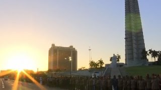 Download Raw: Castro's Ashes Travel Across Cuba Video