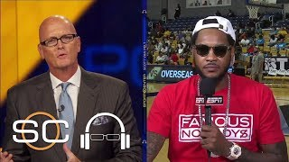 Download Carmelo Anthony Reveals Where He's Found Peace This Offseason | SC with SVP | ESPN Video