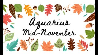 """Download AQUARIUS """"Trying to find love in a hopeless place"""" MID NOVEMBER Tarot Reading Video"""