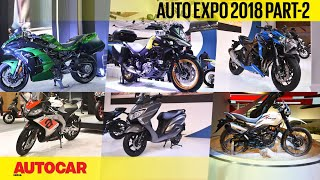 Download Auto Expo 2018 | Wrap-up report - Part 2 - Bikes | Autocar India Video