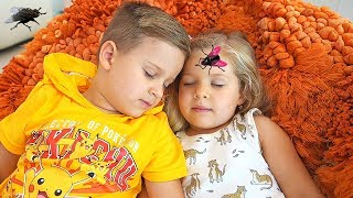 Download Roma and Diana vs Pesky Flies! Аnd other Funny Stories by Kids Diana Show Video
