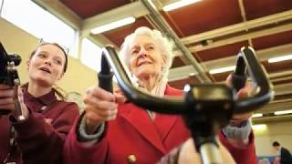Download Dementia care home residents partner up with students Video