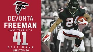 Download #41: Devonta Freeman (RB, Falcons) | Top 100 Players of 2017 | NFL Video