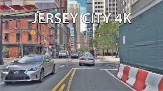 Download Driving Downtown - Jersey City New Jersey USA Video