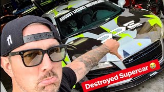 Download OUR AUDI R8 MIGHT AS WELL BE TOTALLED! Video