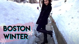Download TRAVEL WITH ME: BOSTON VLOG | Snowy Winter Trip! Video