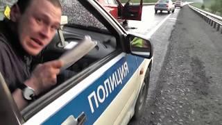 Download Неадекватный водитель БМВ пытался скрыться от ИДПС Сургута Video