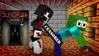Download Monster School : SCARY SLENDRINA THE CELLAR CHALLENGE - Minecraft Animation Video
