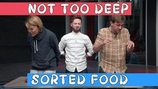 Download NOT TOO DEEP with SORTED FOOD // Grace Helbig Video