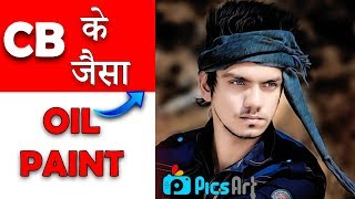 Download CB Editing Oil Painting In Picsart || CB Edit Smooth Face Skin In Picsart || Picsart like Photoshop Video