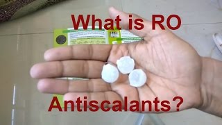 Download RO Antiscalants Explained anti scalants for reverse osomosis Video