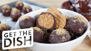 Download No-Bake Nutter Butter Truffles | Get the Dish Video