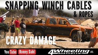 Download Mass Damage snapping winch Cables Video