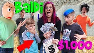 Download Last To Leave Baldi's School House Wins $1,000! Video