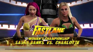 Download WWE 2K17 Road Block Prediction| Sasha Banks vs Charlotte| Women's Championship| IRON Woman MATCH| Video