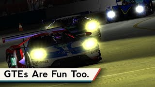 Download iRacing : GTEs Are Fun Too. [VR] (Ford GT @ Sebring Night) Video