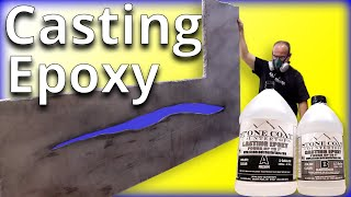 Download Casting Epoxy with LED Lights | Stone Coat Countertops Video