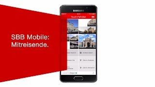 Download SBB Mobile: Mitreisende. Video