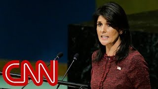 Download Nikki Haley threatens to pull US funding to the United Nations Video