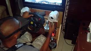 Download DIY 2dof motion rig with wind simulator, aiologs sequential shifter and t300. Video