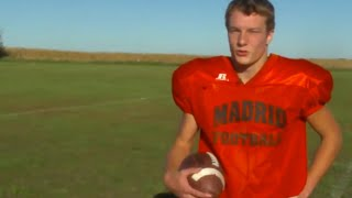 Download This high school's best football player won't tie his shoes Video