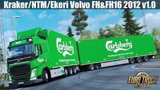 Download ✅ ETS2 1.31 - Kraker/NTM/Ekeri Addon for Eugene's Volvo FH&FH16 2012 v1.0 Video