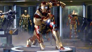 Download Iron Man 3 - Mark 42 Suit Up Scene - Movie CLIP HD Video