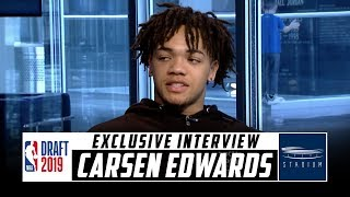 Download Carsen Edwards Discusses Expectations Heading Into NBA Draft | Stadium Video
