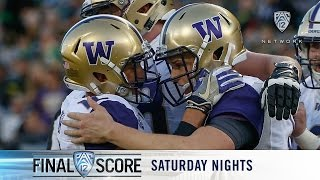 Download Highlights: Washington football puts up 70, snaps Oregon's 12-win streak against them Video