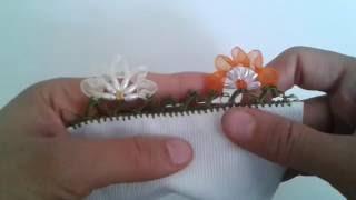 Download Arpa boncuk ve kurdaleden çiçek oyası yapım videosu Video