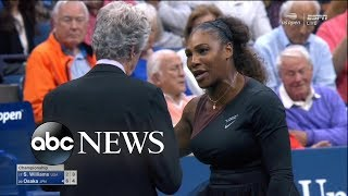 Download Serena Williams was fined $17,000 for arguing with the chair umpire Video