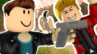 Download ROBLOX MURDER - MY FRIEND IS A PSYCHO KILLER Video