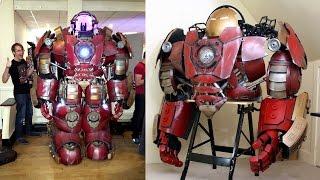 Download How to Build an Iron Man Hulkbuster Helmet & Suit | XRobots Video