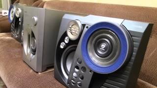 Download Музыкальный центр PHILIPS FW-M777 вместе с сабвуфером Video