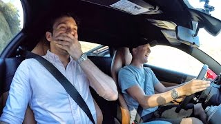 Download Best Friend's First Time In Supercar Reaction Video