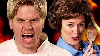 Download Gordon Ramsay vs Julia Child. Epic Rap Battles of History - Season 5 Video