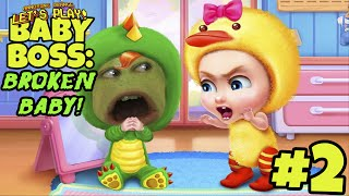 Download Pear Forced to Play - BABY BOSS #2: Broken Baby! Video