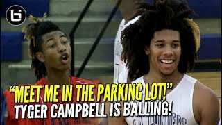 Download TRASH TALK Won't Stop Tyger Campbell or Isaiah Stewart in La Lumiere Blowout! Video