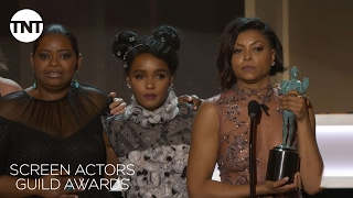 Download Hidden Figures Cast: Acceptance Speech | 23rd Annual SAG Awards | TNT Video