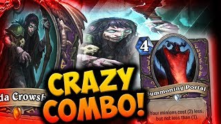 Download GLINDA CROWSKIN + SUMMONING PORTAL = INSANE COMBO | ECHO LOCK | THE WITCHWOOD | DISGUISED TOAST Video