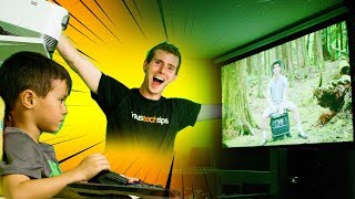 Download DIY Projector Screen & Home Theater Setup! Video