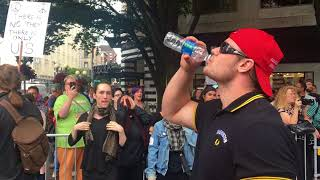 Download Proud Boys vs Literally shaking beta males in Seattle - August 13, 2017 Video