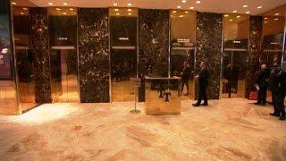 Download Trump elevators: Red carpet of politics? Video