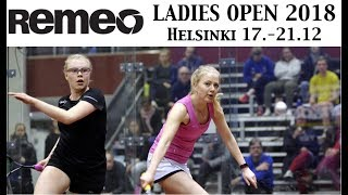 Download Remeo Ladies Open 2018 Semifinals Video