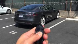 Download Tesla Model S AutoPilot Demo SUMMON FEATURE Video